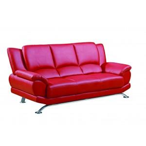 9908 Modern Leather sofa by Global USA