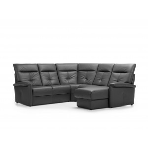 Versailles II Leather Sectional   Rom   Made in Belgium