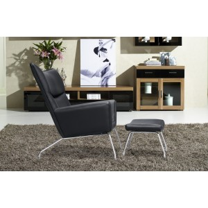Wing Chair Leather