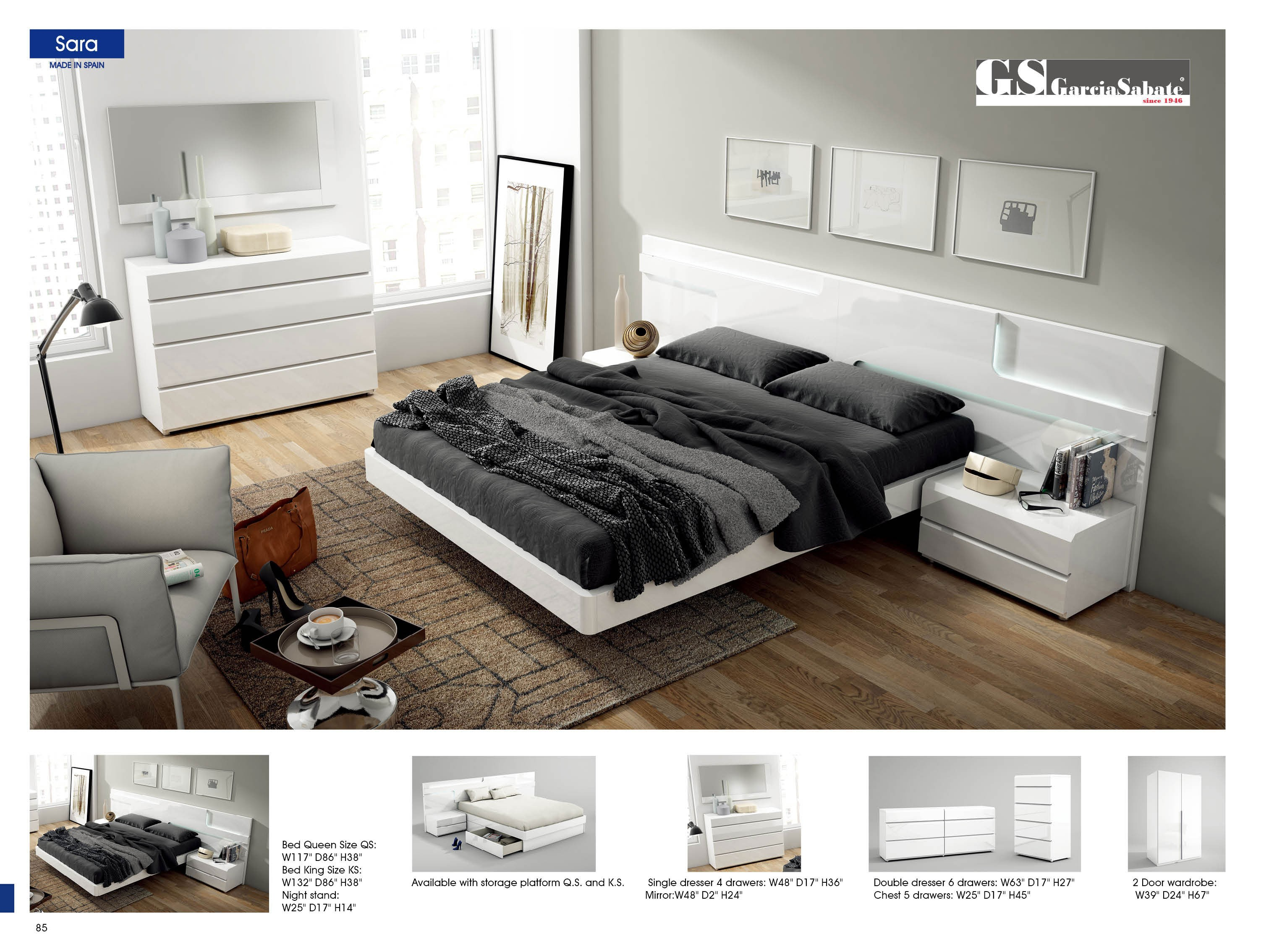 sara bedroom setesf buy from nova interiors
